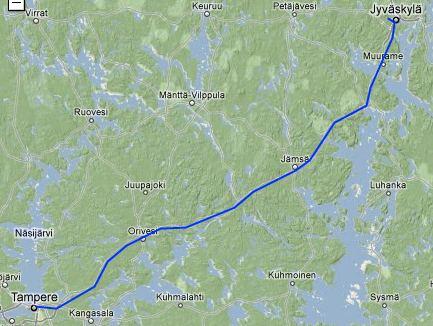 polarkreis finnland karte